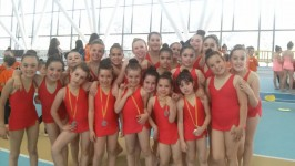 Felicitats a les participants del Joanot a la Final Comarcal de Rítmica 2015