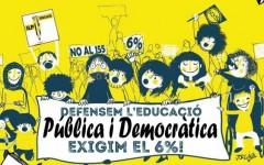 Manifestació per l'educació pública