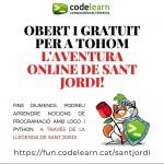 Sant Jordi en confinament: aprèn a programar amb roses i llibres!