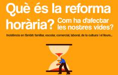 Xerrada - Què és la reforma horària?