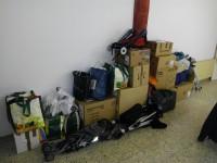 Finalitzada la recollida de material i menjar