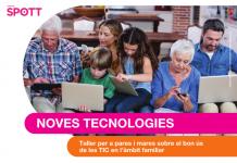 Taller per a pares i mares sobre el bon ús de les TIC en l'àmbit familiar