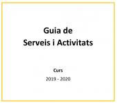 Guia de Serveis i Activitats AMPA Joanot Alisanda 2019 - 2020